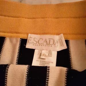 Vintage Escada pencil skirt knit